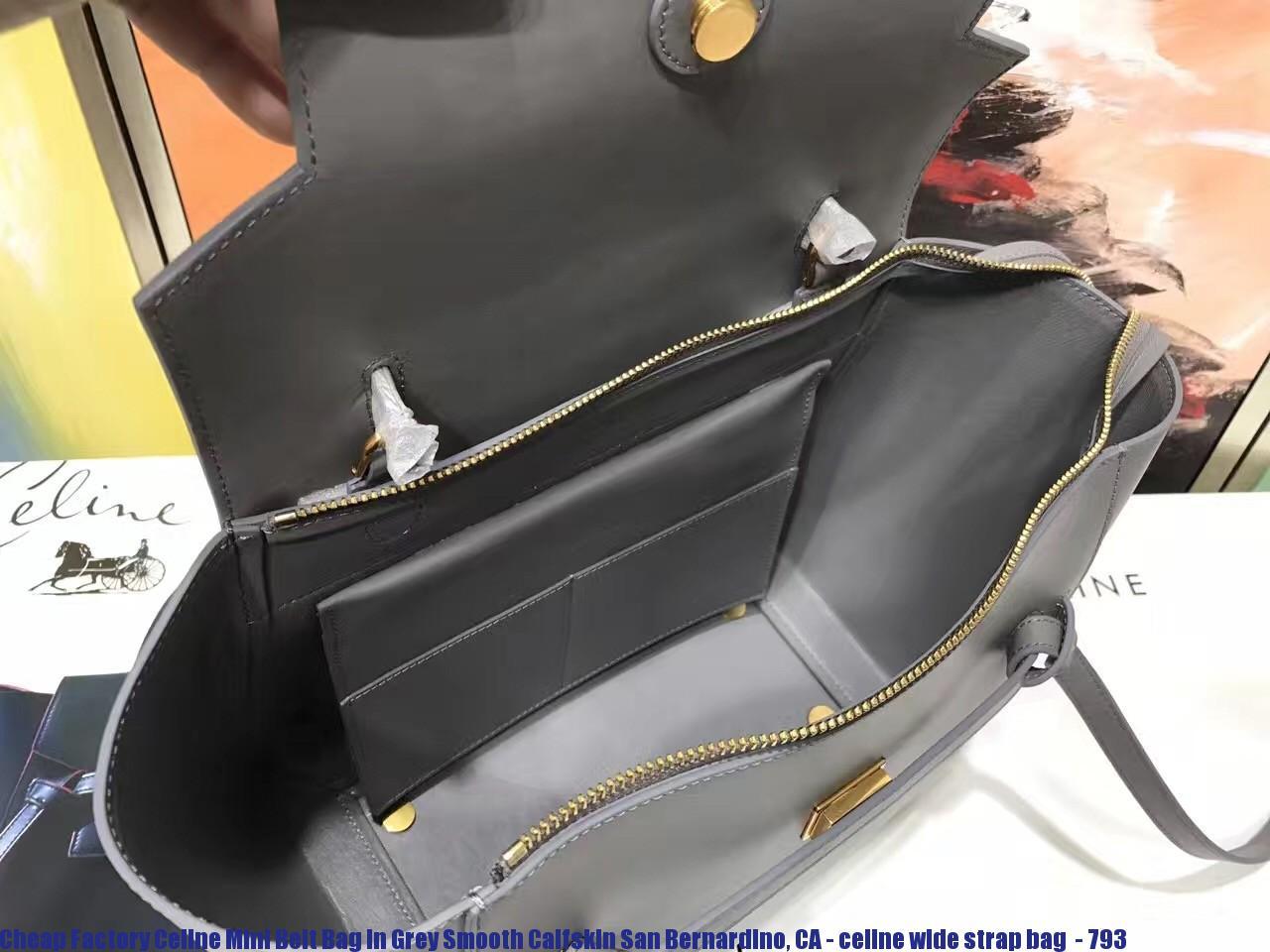 209cf839a6ed Cheap Factory Celine Mini Belt Bag In Grey Smooth Calfskin San ...